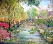 Les jardins de Monet.