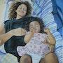 Petites mamans dans l'attente de l'été bleu.. Françoise-Elisabeth Lallemand