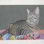 Théo, le chat de mes Amis (es). Michel. Gouyet