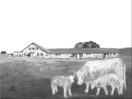 Métairie de la Roche-Devant. Elji Elji