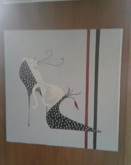 Un zapato original. Pilar M. Pilar