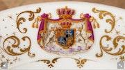 Porzellanteller aus dem Hause Hohenzollern-Sigmaringen um 1820. Thomas Kern