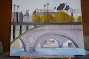 Le Pont Neuf à Paris.