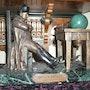Bronze Napoléon bonnaparte. Inspecteur