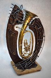 Alte Trompete.