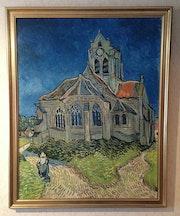 Vincent van Gogh, «Kirche von Auvers». Thomas Kern
