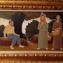 Gemälde von Lluis Puig Barella / XX Jahrhundert. Antiguedadesoratam