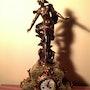 Horloge de bureau français. Antiguedadesoratam