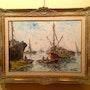 Oil Painting / Walter Wurst / 1906. Antiguedadesoratam
