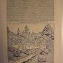 Phantasieansicht Österreich, Schedel'sche Weltchronik 1493, s/w. Thomas Kern