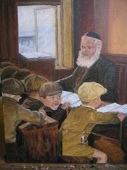 Une classe en Biélorussie en 1938.
