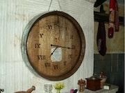 Horloge Saint-Emilion. M.
