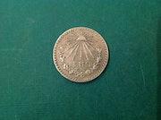 Moneda de 1 peso de Plata / 1932. Antiguedadesoratam