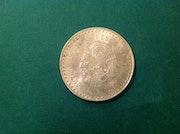 5 Pesos coin Cuauhtemoc / Sterling Silver 0.900 / 1948. Antiguedadesoratam