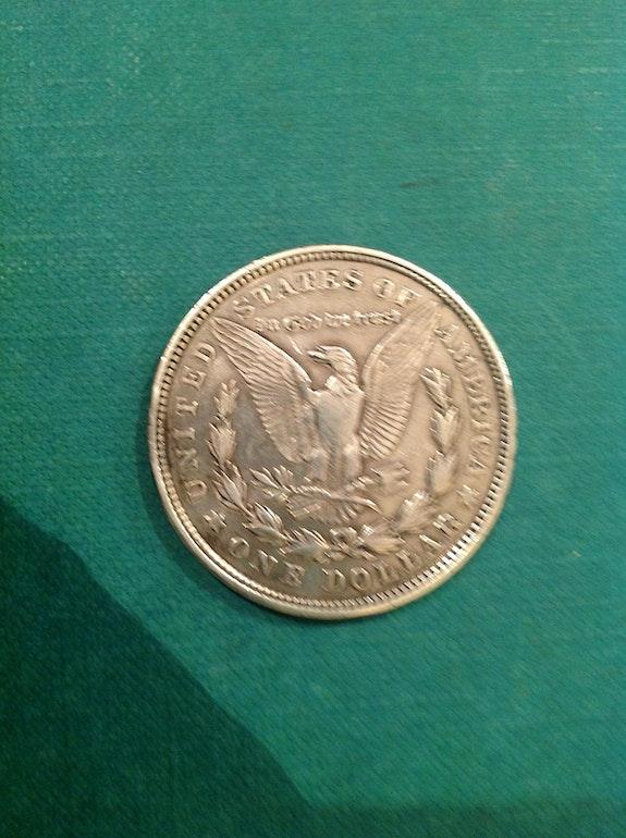 Währung $ 1 Silber, usa / 1921. Desconocido Antiguedadesoratam