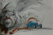A. Bugatti 35. Michaux