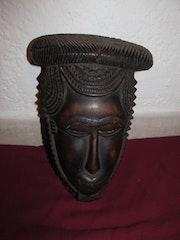 Art africain: ancien masque baoulé. Africashop