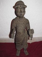 Art Africain : Bronze Du Royaume Du Bénin. Africashop