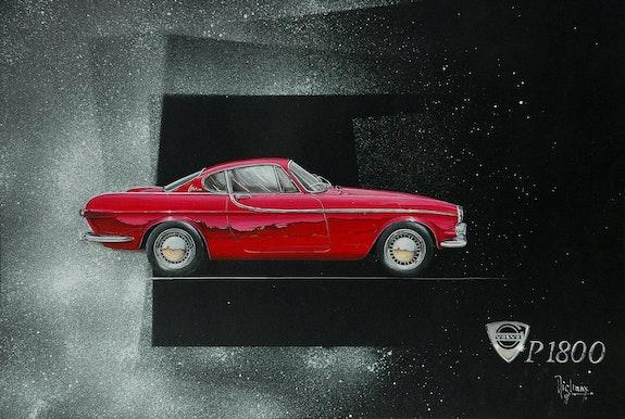 A. Volvo p 1800. Michaux Michaux