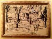 Drawing Scenery / Joan Granados Llimona / Barcelona 1931.
