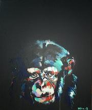 Chimpanzé 10.
