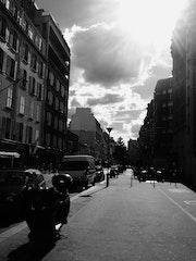 Perspectibe libre - Rue Raymond Losserand - Septembre 2013.