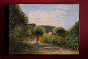 Copie d'un Renoir «La route à Louveciennes». Epsilon1963