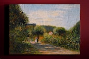 Copy of a Renoir «The road to Louveciennes».