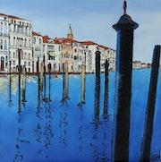 Venise bleue.