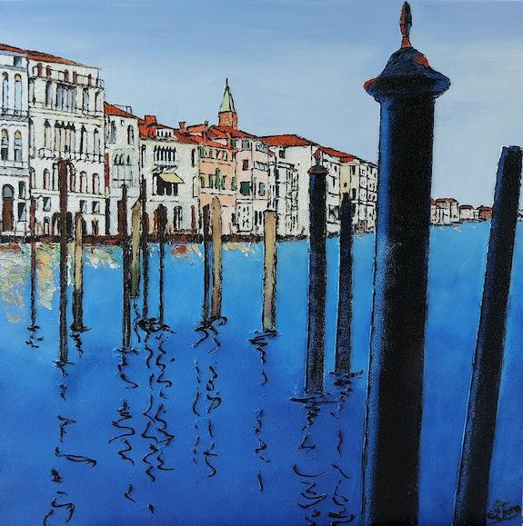 Venise bleue. Tison Lionel Lionel Tison
