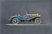 A. Bugatti roland garros..