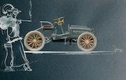 A. Bugatti n° 1. Michaux