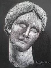 Femme de marbre.