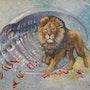 Nature´s Treasures: Black mane Lion. Silvia Duran