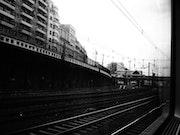 A travers la vitre - In train - Septembre 2013.