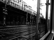 A travers la vitre (2) - In Train - Septembre 2013.