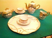 Old Coffee Set Porcelain you and me.
