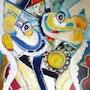 Carnaval des oiseaux. Christian Blangez