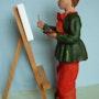 Toinette peintre. Cria