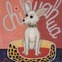 The Chihuahua Dog - Giclée print after the painting - Jacqueline_Ditt. Universal Arts Galerie Studio Gmbh