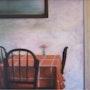 Mesa con mantel. Cesar Pascual Pascual