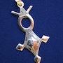 Collier touareg croix Agadez. Elvie l'atelier