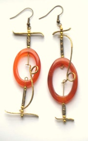 Boucles d'oreilles West. Elvie l'atelier