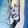 Sous le vent bleu de l'azur. Jean Claude Ciutad-Savary. Artiste Peintre