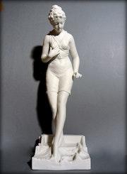 Baigneuse Art-Déco. Marc Menzoyan Antiquités