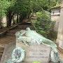 Cimetière du père Lachaise (Paris). Sharareh Jafarinejad Soumeh Sarae