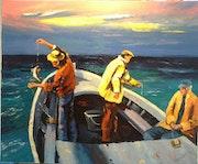 Les trois pêcheurs.