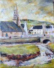 L'Hopital Camfrout dans le Finistère en Bretagne.