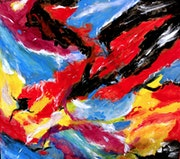 Abstractions 40 - Acrylique.