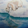 Ours blanc. Catherine Wernette